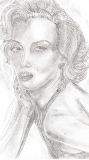 Marilyn Monroe by Epona